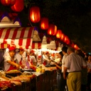 Night market in Beijing