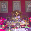 The only Buddha we could take a picture of - it was forbidden to take pictures inside any temple hall